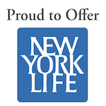 New York Life Logo:  Proud to Offer